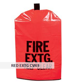 "Brady Extinguisher Cover w/ Window, 20"" x 11 1/2"""