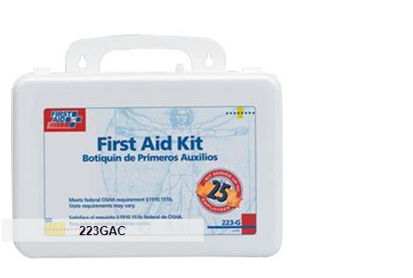 First Aid Only Weatherproof 25-Person Bulk First Aid Kit with Gasket