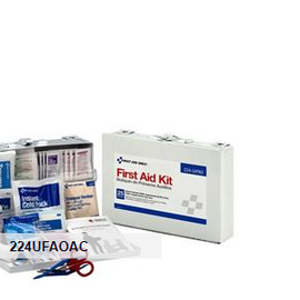 First Aid Only 25-Person Bulk First Aid Kit - Metal