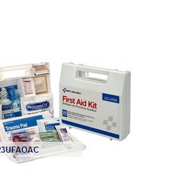 First Aid Only 25-Person Bulk First Aid Kit with Dividers