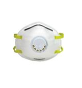 Gerson® N95 Disposable Particulate Respirators with Valve, 10/Box