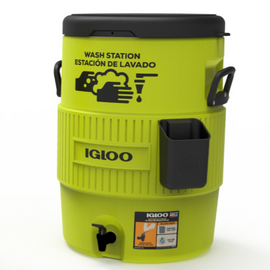 IGLOO Economical Hand Washing Station - Choose 5 gallon or 10 gallon
