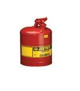 Justrite® Type I Safety Can, 5 gal, Red