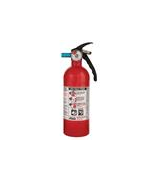 Kidde 2 lb BC Automotive FC5 Extinguisher w/ Metal Valve & Plastic Strap Bracket (Disposable)