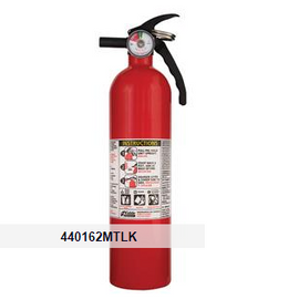 Kidde 2.5 lb ABC Automotive FC110 Extinguisher w/ Metal Valve & Plastic Strap Bracket (Disposable)
