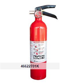 Kidde 2.5 lb ABC Pro Line Extinguisher w/ Metal Vehicle Bracket