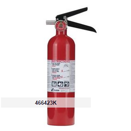 Kidde 2.5 lb ABC Automotive FC110M Extinguisher w/ Plastic Bracket w/ Metal Strap