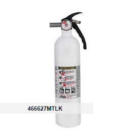 Kidde 2.5 lb ABC Mariner 110 Extinguisher M110G w/ Metal Valve & Plastic Strap Bracket (Disposable)