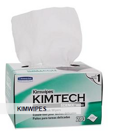 "Kimtech Science* Kimwipes* Wipers, 2-Ply, 14 11/16"" x 16 19/32"", 15 Boxes - 90 each"