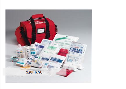 Large First Responder First Aid Kit with Bag