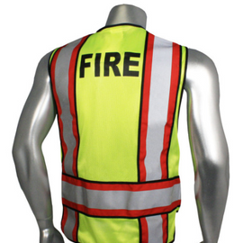 "Radians Breakaway 4"" Contrast Vest, for Police, EMS or Fire - Please Choose Variety and Size"