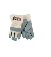 "MCR Safety® Big Jake® Leather Palm & fingers 2.75"" Safety Cuff - per dozen"
