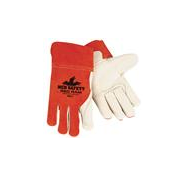 MCR Safety® Red Ram™ Grain Cowhide Gloves - per dozen