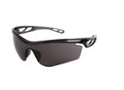 MCR Safety® Checklite® CL4 Eyewear, Gray Frame/Scratch-Resistant Lens