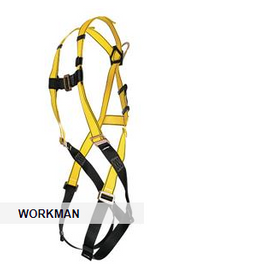 MSA Workman® Harness with Qwik-Fit Leg Buckles, Standard