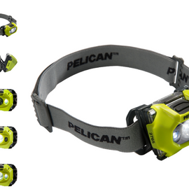 Pelican Headlamp LED High Visibility Yellow