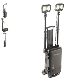 Pelican Remote Area Light - Dual Telescoping LED Light Heads