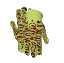 West Chester PIP Aramid/Cotton Seamless Knit Hot Mill Glove with Cotton Liner and Double-Sided Nitrile Coating - Knitwrist - Please Choose Size - Price per 12 dozen pair