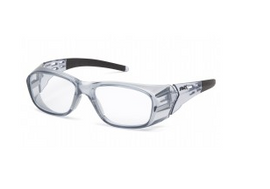 Pyramex Emerge Plus Clear Full Reader Lens +2.5 Safety Glasses - Box of 6