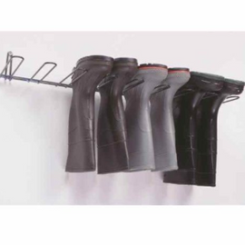 Rackem Safety Boot Rack, Stainless Steel, Holds 4 Pairs
