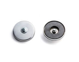Rackem Safety 2 pcs of-50-60lb pull test magnet with screw, bolts & washers (Can add to any racks or baskets  for mounting)
