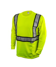 Radians Class 2 Long Sleeve FR Safety T-Shirt - Please Choose Size