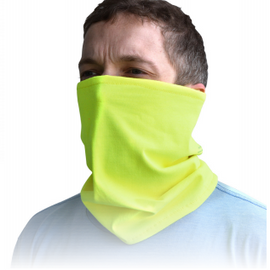 Radians Flame Resistant Neck Gaiter - Green - 10 per pack