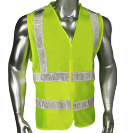Radians Class 2 High Gloss Tape Safety Vest - Please Choose Size