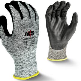 Radians Axis Level A4 Cut Protection Dipped Glove - 12 pair per order