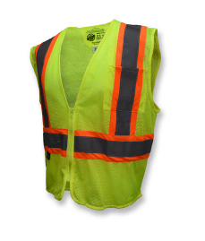 Radians Class 2 Self Extinguishing Two Tone Trim Safety Vest