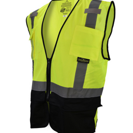 Radians Black Bottom Self Extinguishing Surveyor Vest