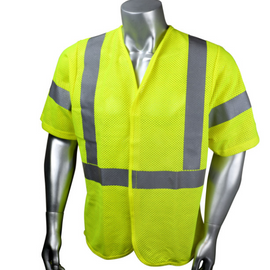 Radians Custom Modacrylic Mesh Flame Resistant Class 3 Vest (with short sleeves)