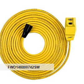 Southwire GFCI Right Angle Cord Set, 25'