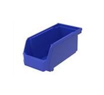 "TruForce™ Hang, Stack, & Nest Bin, 5 3/8""L x 3""H x 4 1/8""W, Blue"