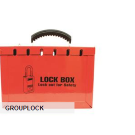 TruForce™ Lock Box, 13 Lock, Red