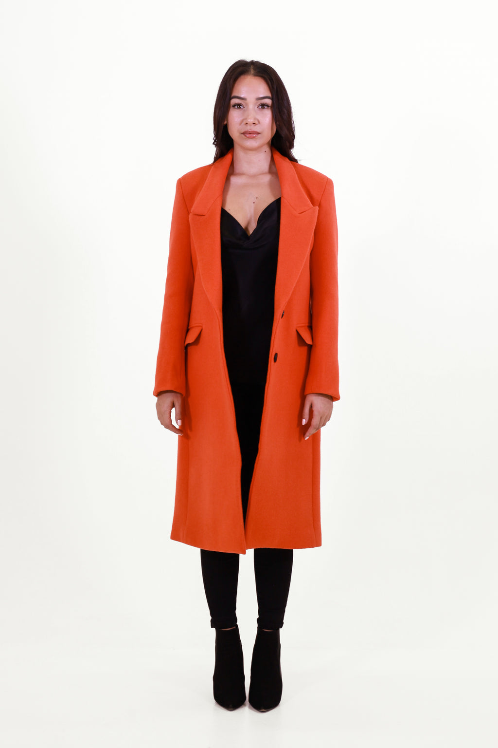 Soho Orange Coat