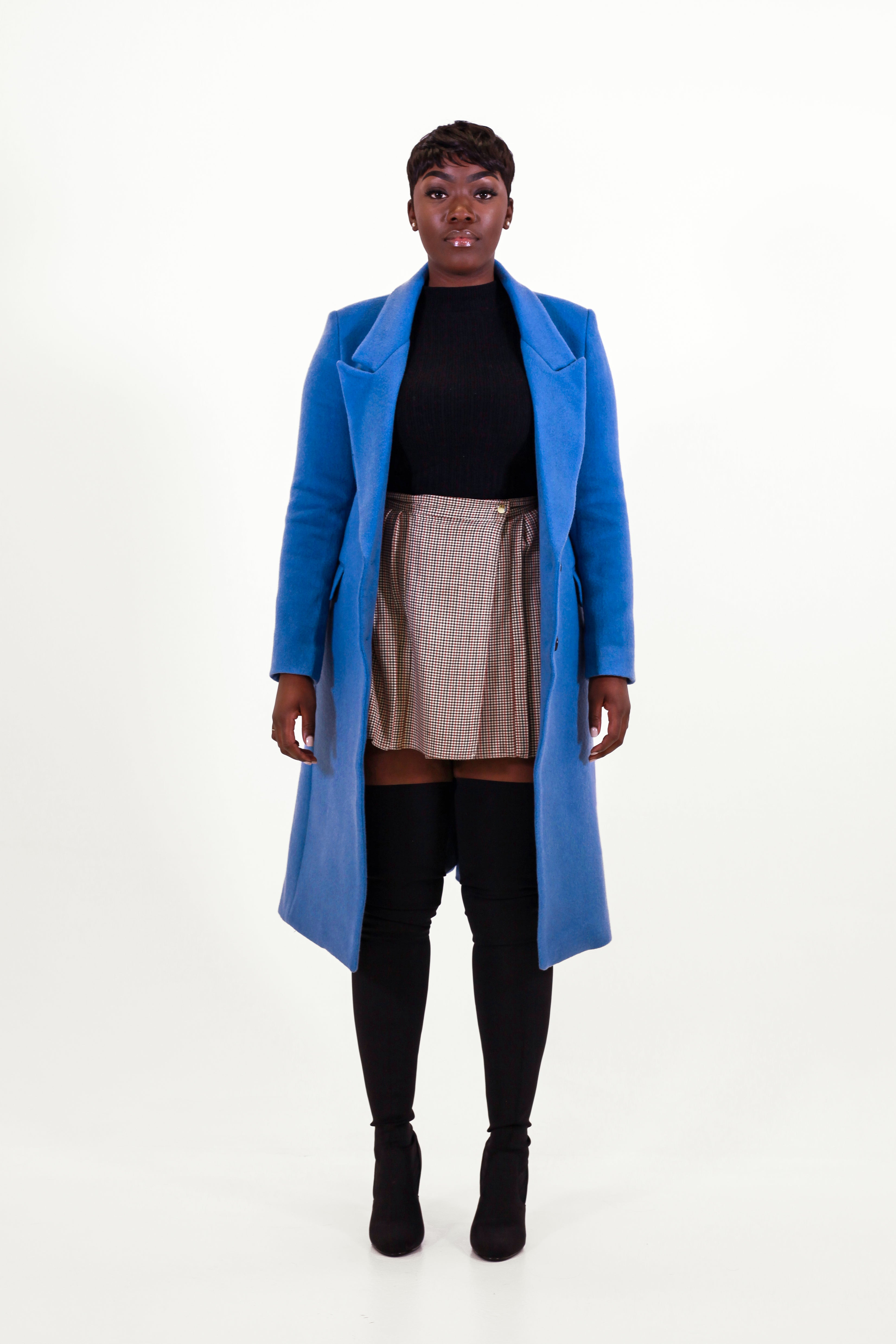 Soho Denim Blue Coat