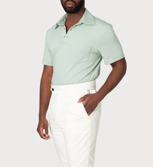 Polo T-Shirt: Green