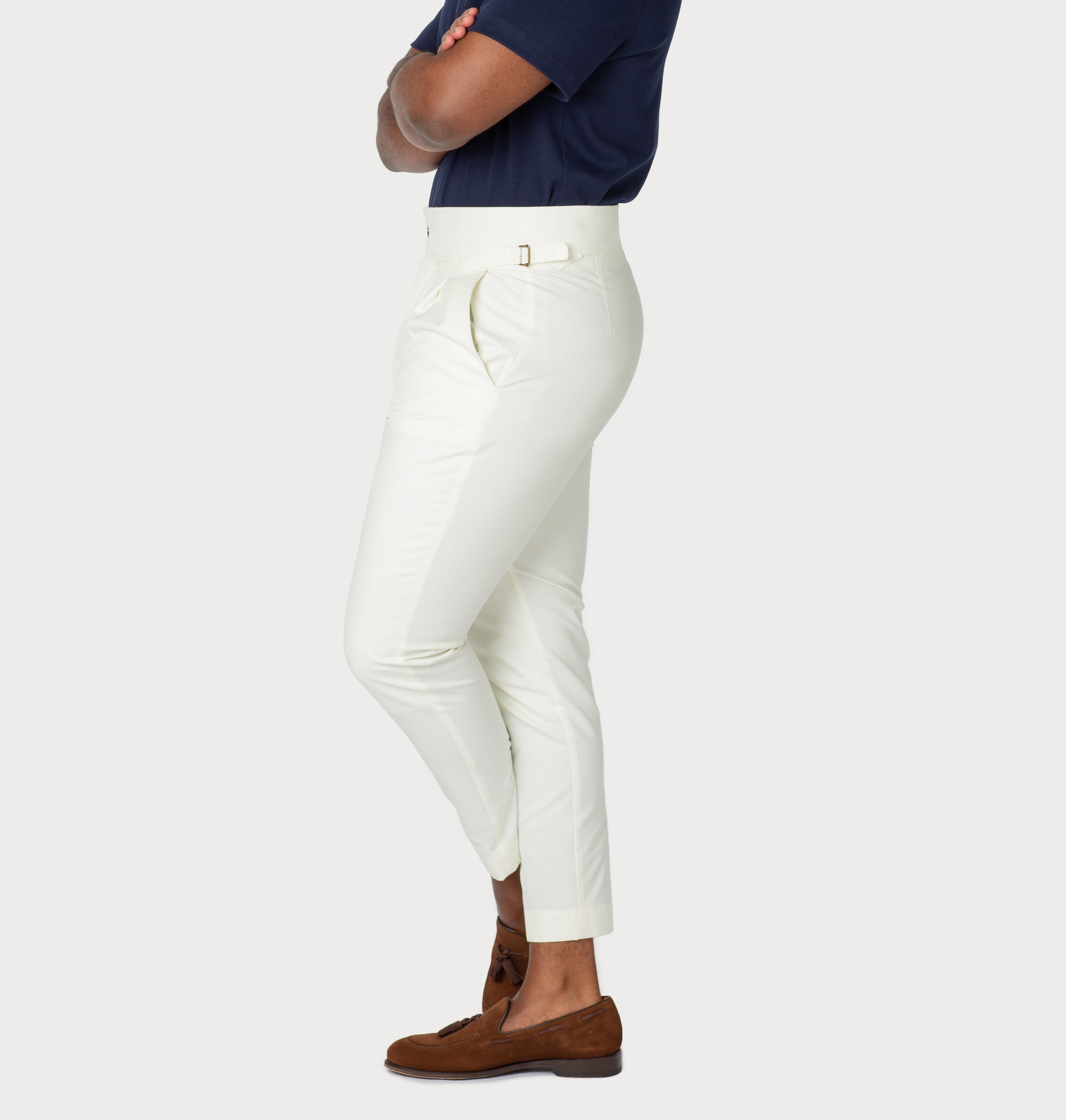 Trousers: Ivory