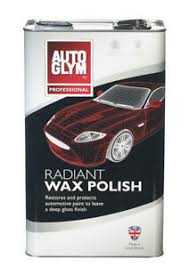 Auto Glym Radiant Wax Polish 5L - Bosca Chemicals & Cleaning Supplies