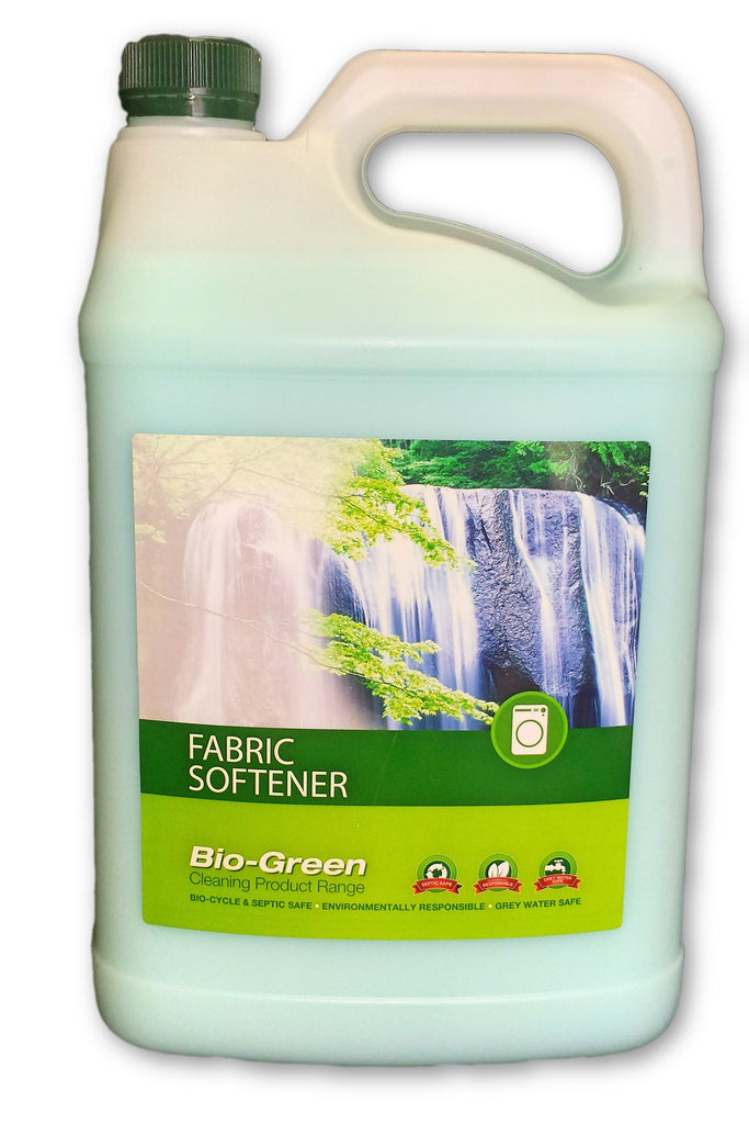 BioGreen Fabric Softner Bio-degradable Phosphate free 5L - Bosca Chemicals & Cleaning Supplies