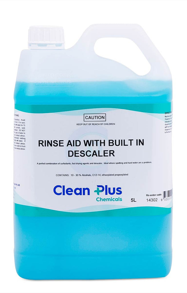 Clean Plus Rinse Aid With Built in Descaler