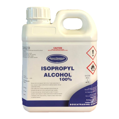 100% Isopropyl Alcohol Isopropanol 1L