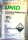 Potassium Hydroxide Caustic Potash Flakes  (KOH) 25Kg