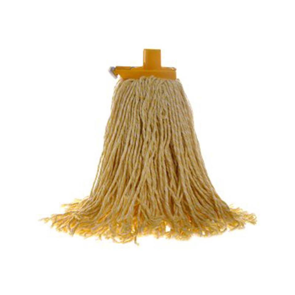 Sabco 400g Premium Grade Contractor Mop Head Yellow - Bosca Chemicals & Cleaning Supplies