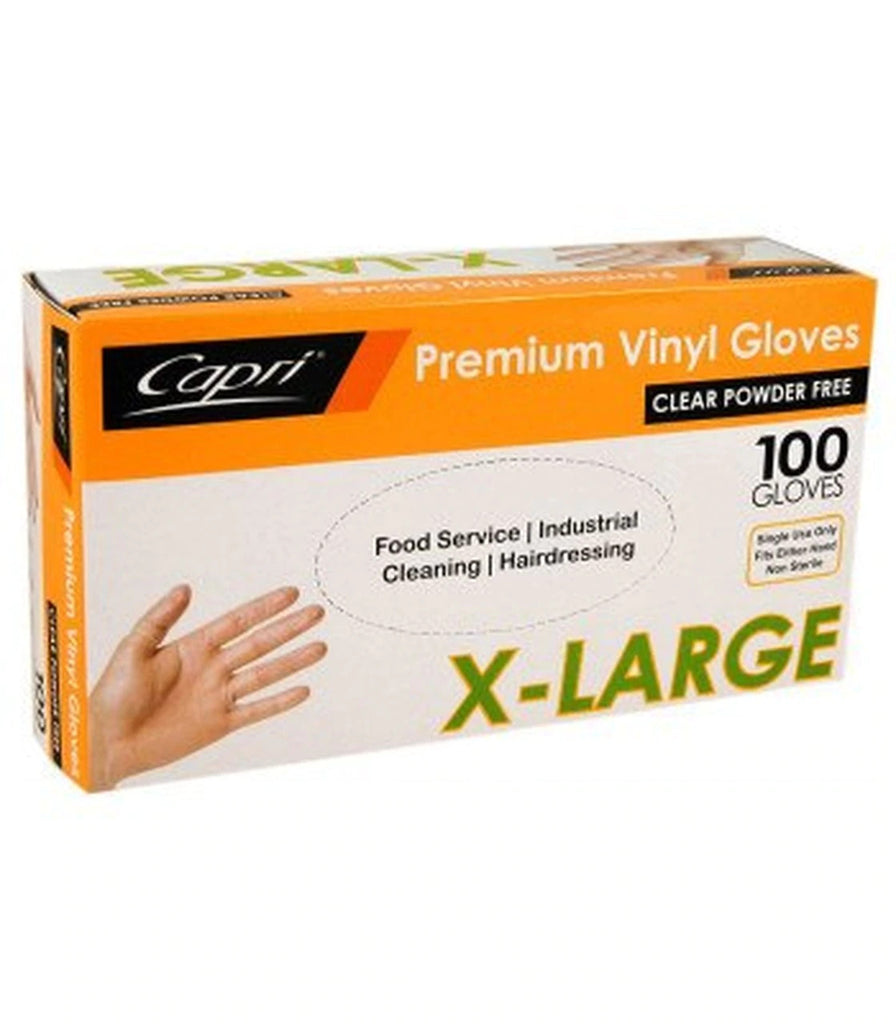 Capri Vinyl Extra Large Gloves Bosca Chemicals