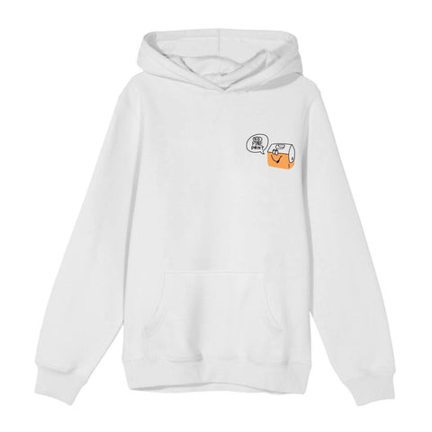 Little Buddies Hoodie-No Fine Print Wine