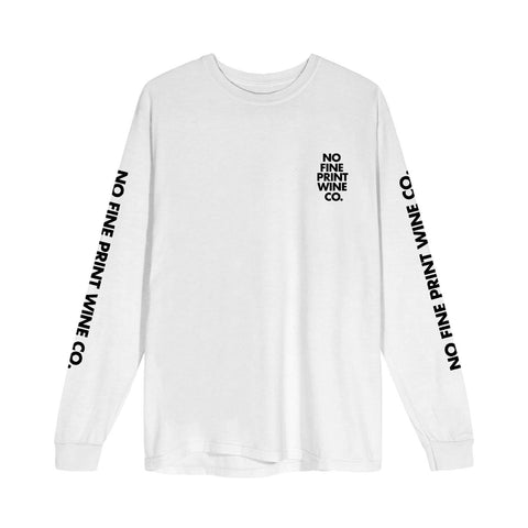 No Fine Print Long Sleeve-No Fine Print Wine