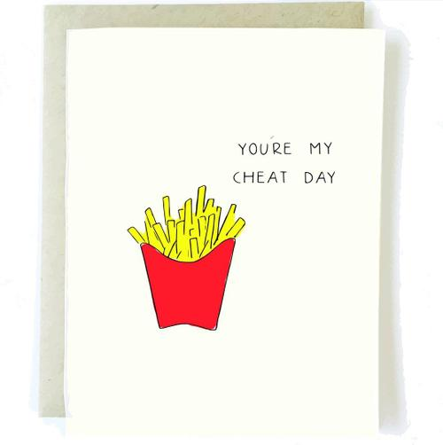 Cheat Day Love Card - BodyFactory