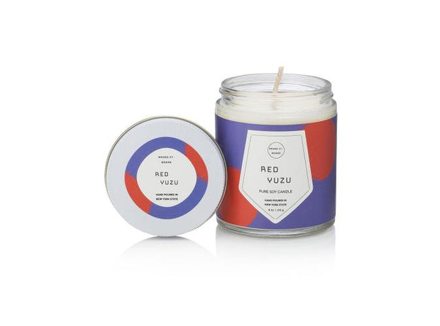 Red Yuzu 16 Oz Candle - BodyFactory